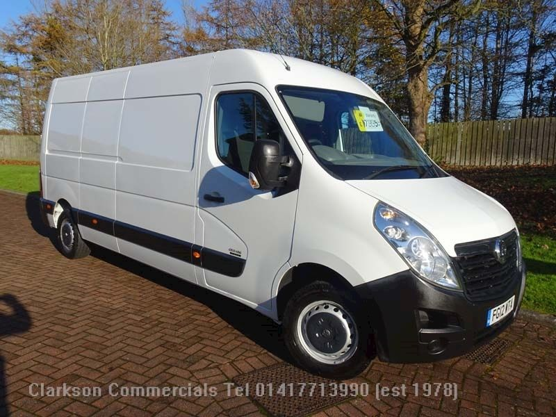 Vauxhall Movano F3500 L3H2 LWB 125ps/6 speed, with
