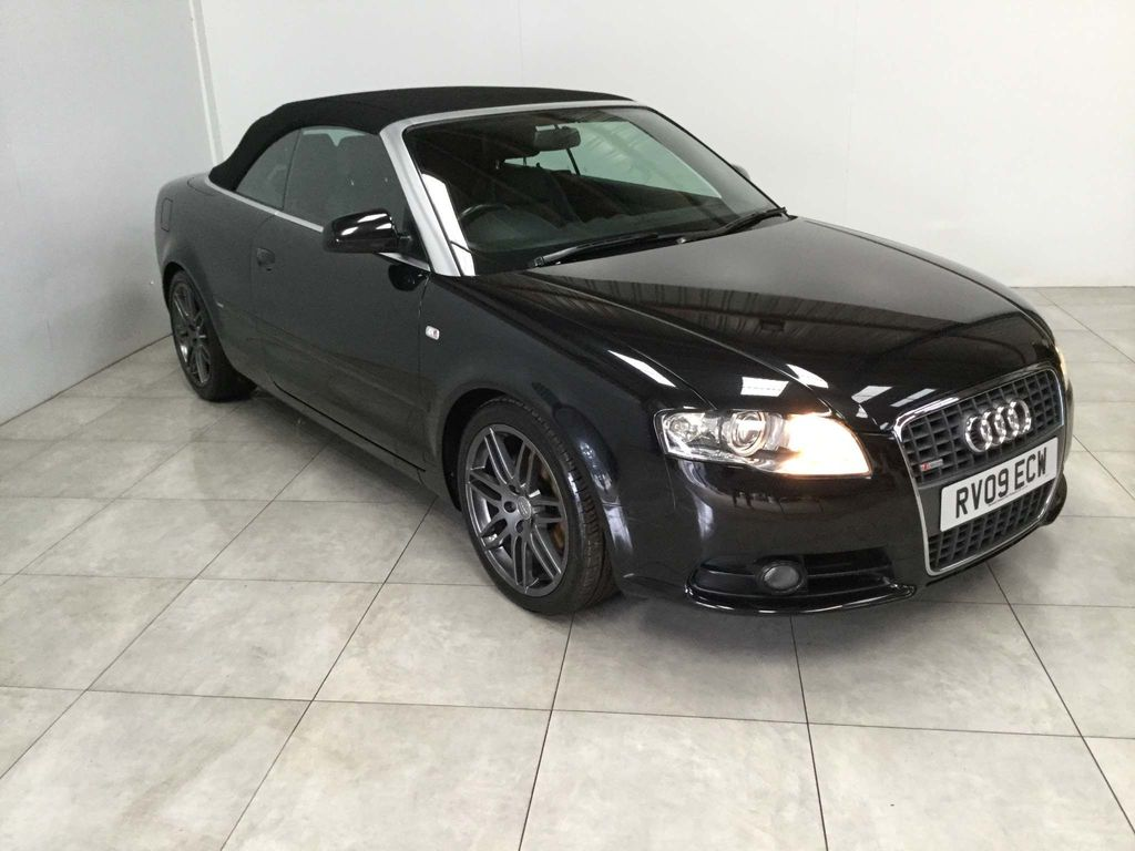AUDI A4 CABRIOLET Convertible 2.0 TDI S line Cabriolet 2dr
