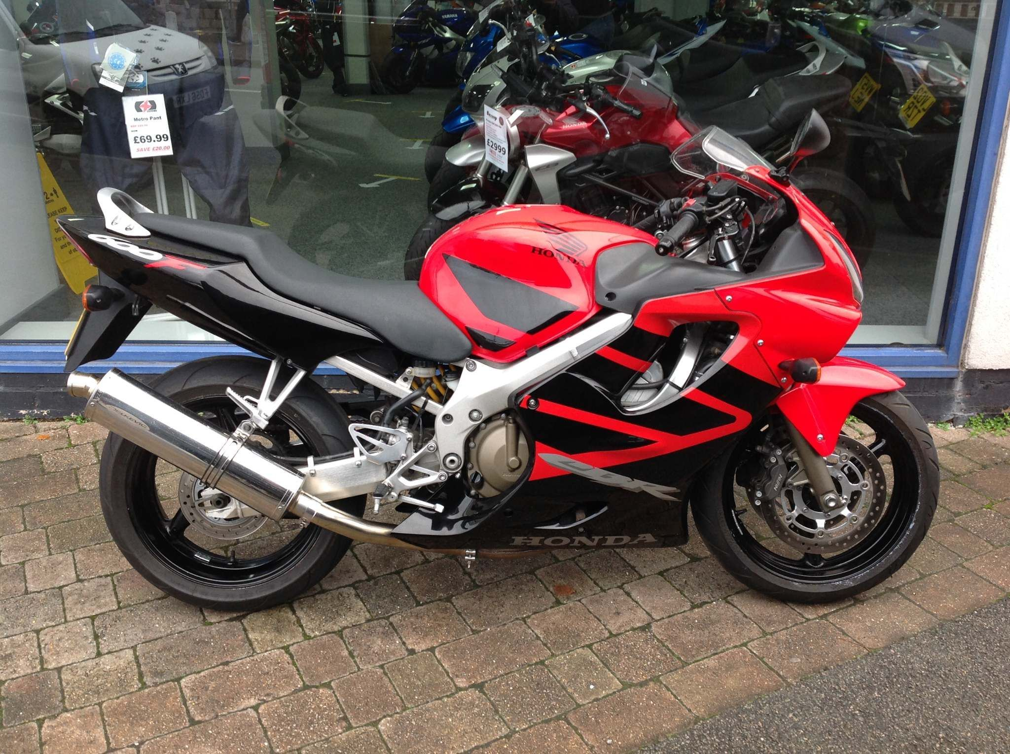 Honda CBR600F 600