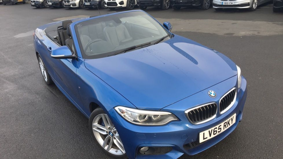 Image 30 - BMW 220i M Sport Convertible (LV65RKY)