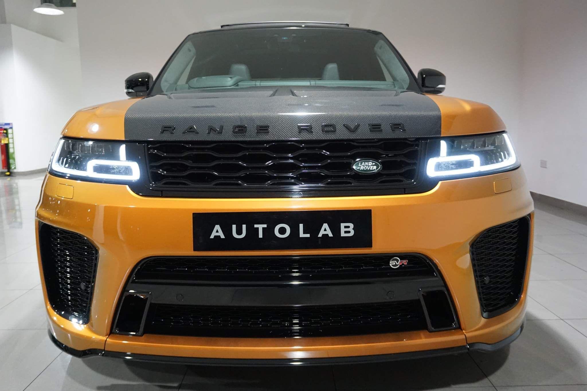 Land Rover Range Rover Sport 5.0 P575 V8 SVR Auto 4WD (s/s) 5dr