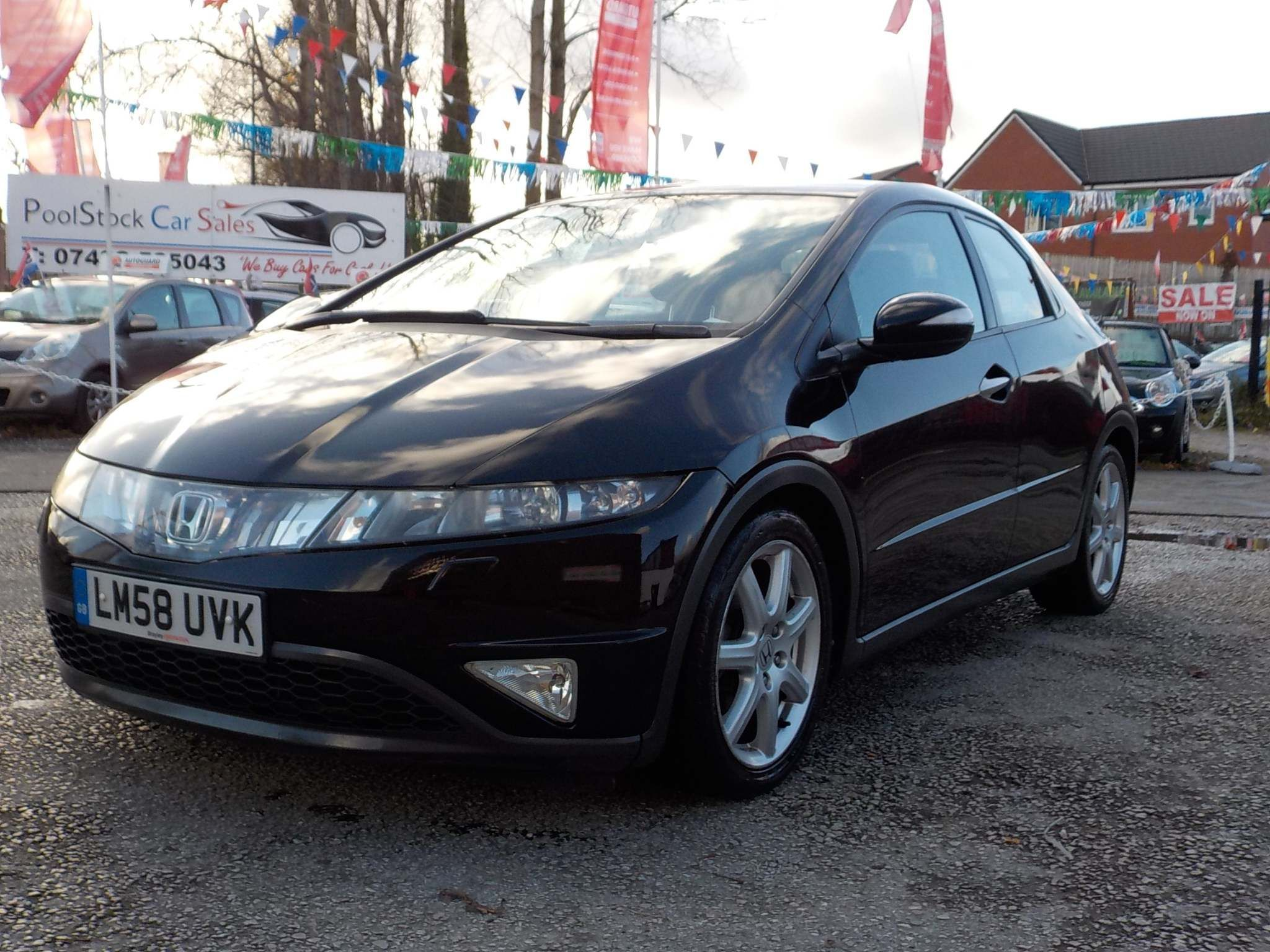 Honda Civic 1.8 i-VTEC EX i-Shift 5dr