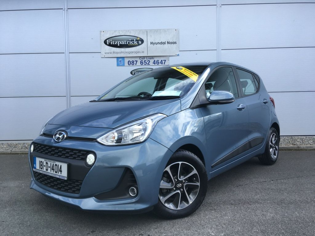 Hyundai i10 **VIDEO TOUR** New In Stock - 1.0 DELUXE Model A/C, Bluetooth, Alloys 3 YEARS WARRANTY AND AA. Aqua Sparkling Metallic