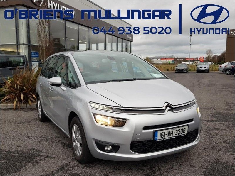 Citroen C4 GRAND PICASSO 1.6BLUE HDI 7 Seater