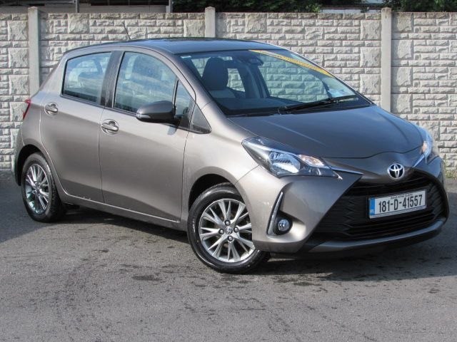 Toyota YARIS LUNA 1.0 PETROL WITH REVERSING CAMERA, CRUISE CONTROL, FRONT SPOT LIGHTS WITH  34,000 KMS WITH TOYOTA WARRANTY ANY TRADE IN WELCOME