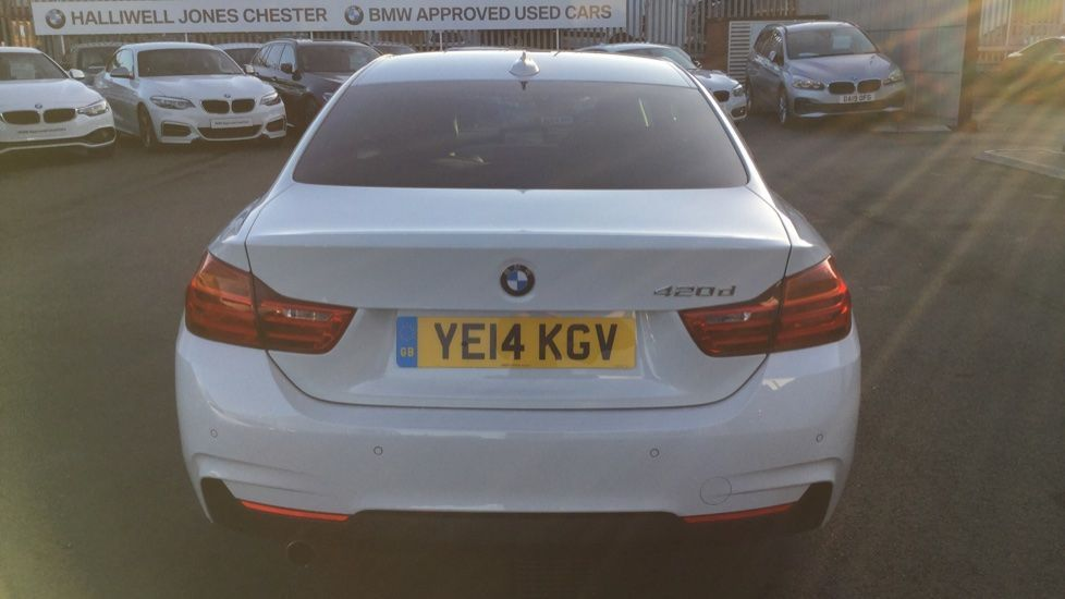 Image 11 - BMW 420d M Sport Coupe (YE14KGV)