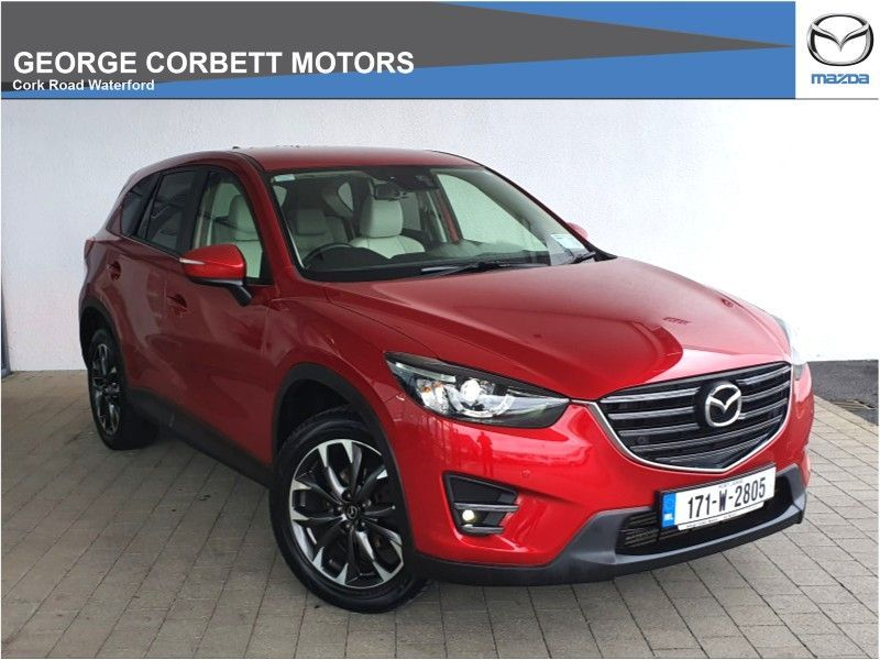 Mazda CX-5 Platinum 2.2D 150PS 2WD (From €89 per week)