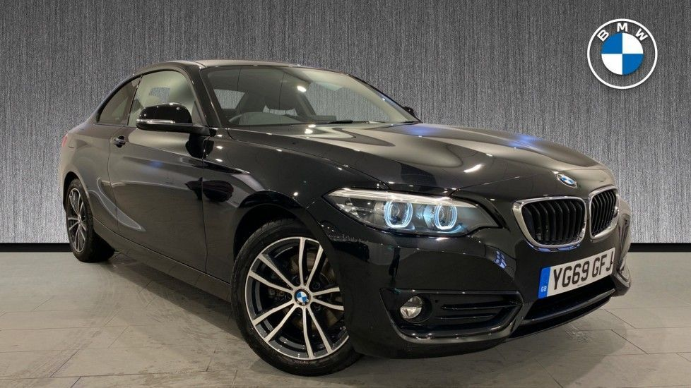 Image 1 - BMW 220i Sport Coupe (YG69GFJ)