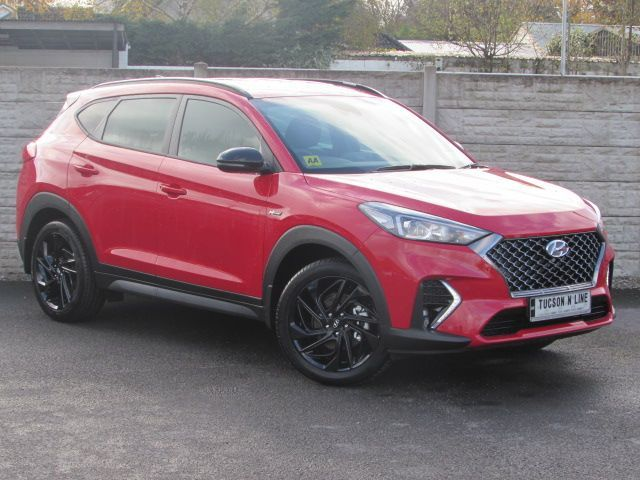 Hyundai Tucson N-LINE EXECUTIVE AUTOMATIC 136 BHP WITH UNLIMITED MILEAGE WARRANTY FOR 5 YEARS ANY TRADE IN WELCOME