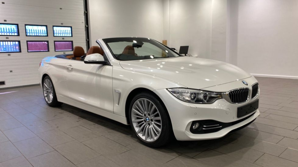 Image 10 - BMW 420d Luxury Convertible (YG14TXK)