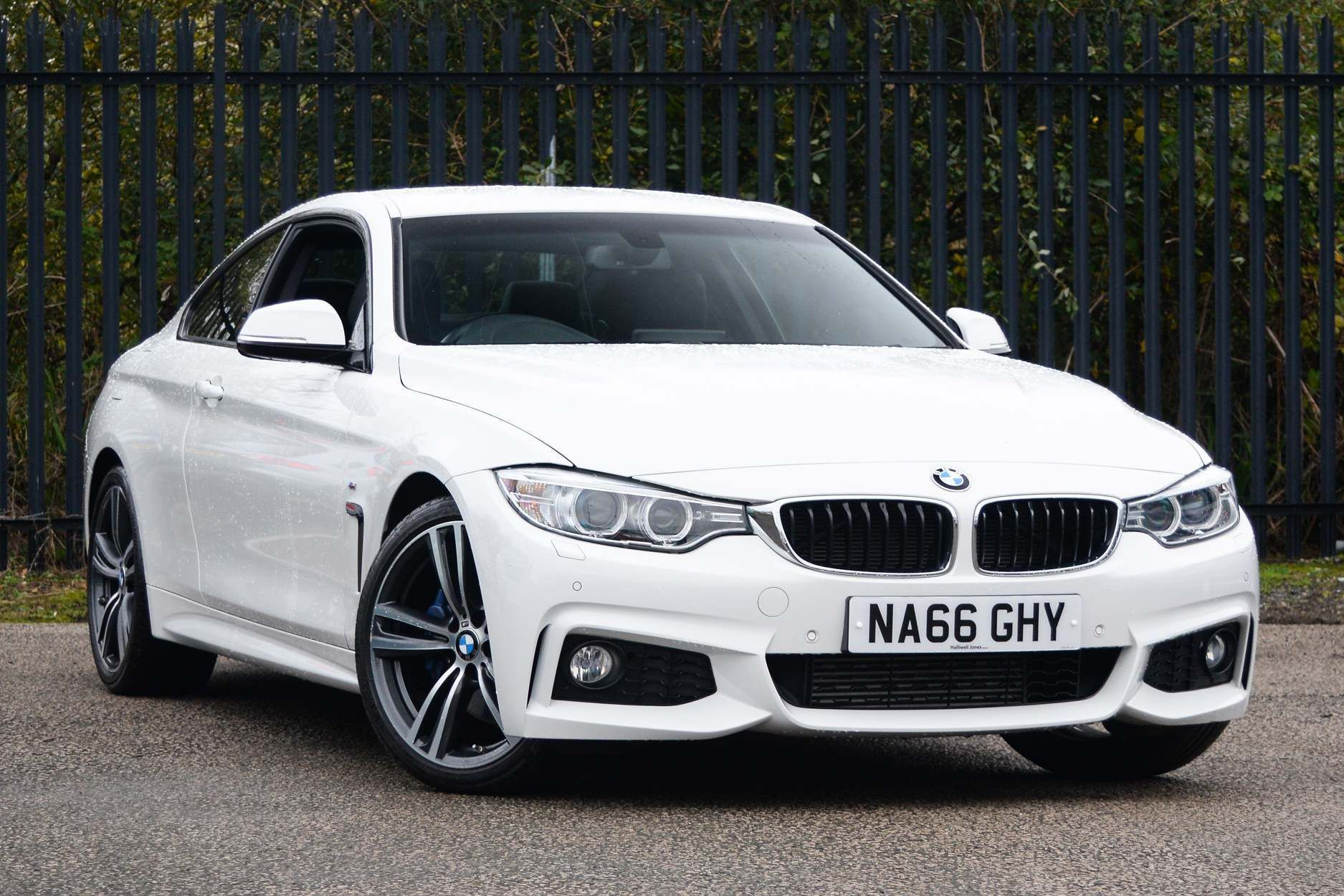 Image 1 - BMW 420d M Sport Coupe (NA66GHY)