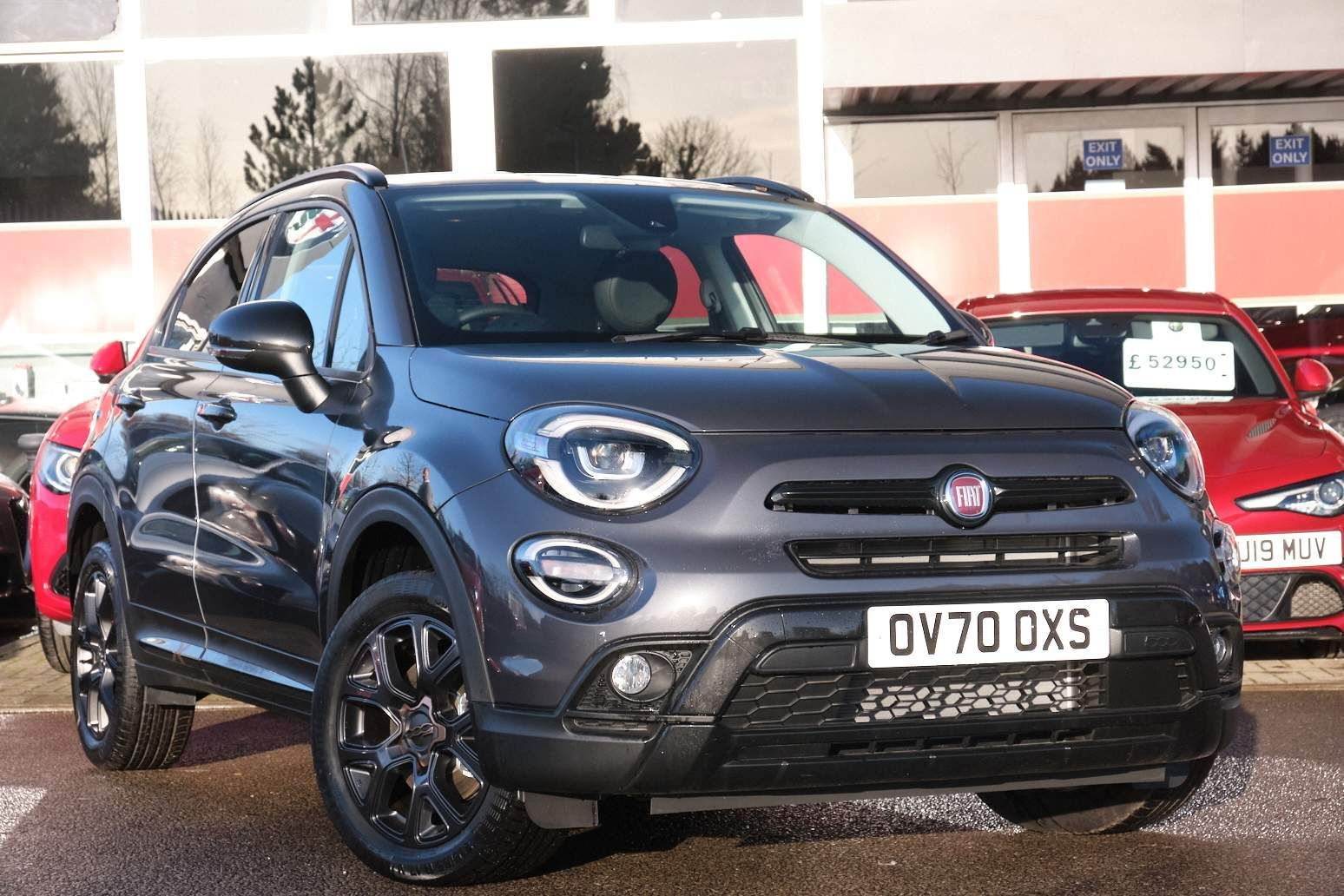 Used Fiat 500x Petrol Grey 5dr 2020 For Sale In Kidlington Used Approved Alfa Romeo