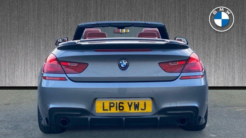 Image 15 - BMW 640i M Sport Convertible (LP16YWJ)
