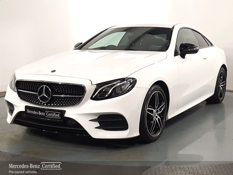 Mercedes-Benz E-Class E220D COUPE Full AMG Line with Nightpack