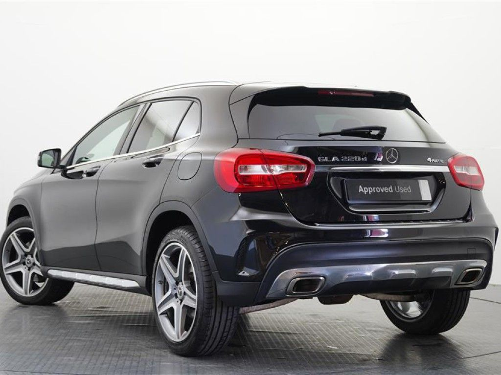 18Reg 2018 Mercedes-Benz GLA Class GLA 220 CDI 4MATIC SUV for sale.
