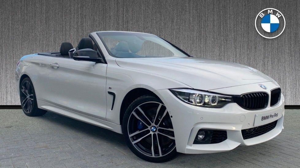 Image 1 - BMW 435d xDrive M Sport Convertible (CX20VWF)