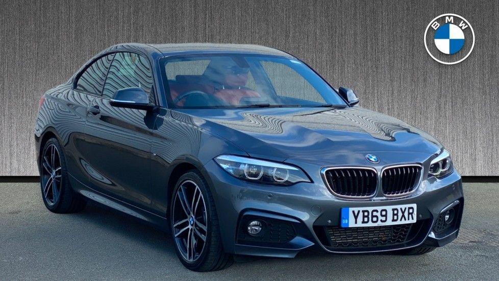 Image 1 - BMW 218d M Sport Coupe (YB69BXR)