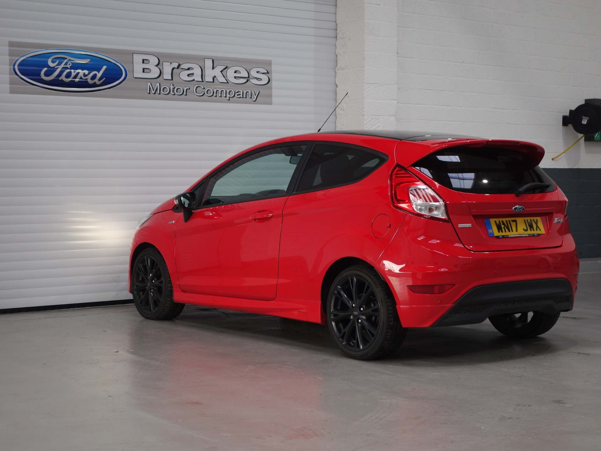 Ford Fiesta 1.0 T EcoBoost ST-Line Red Edition (s/s) 3dr – WN17JWX