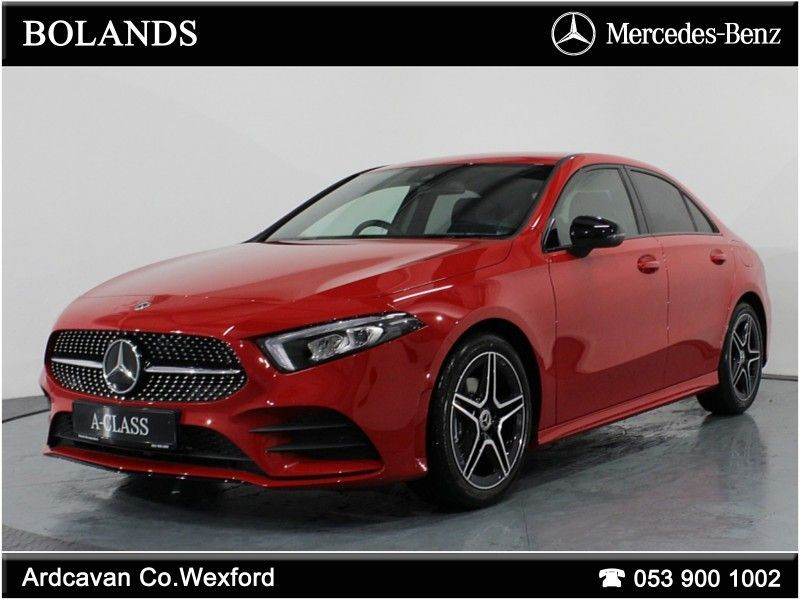 Mercedes-Benz A-Class 180D AMG Pack, Night Package with Smartphone Integration  *From €589 per month