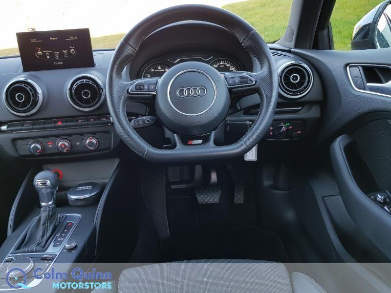Used Audi A3 Sportsback 1.2TFSI  Auto S LINE Black Edition (2016 (161))