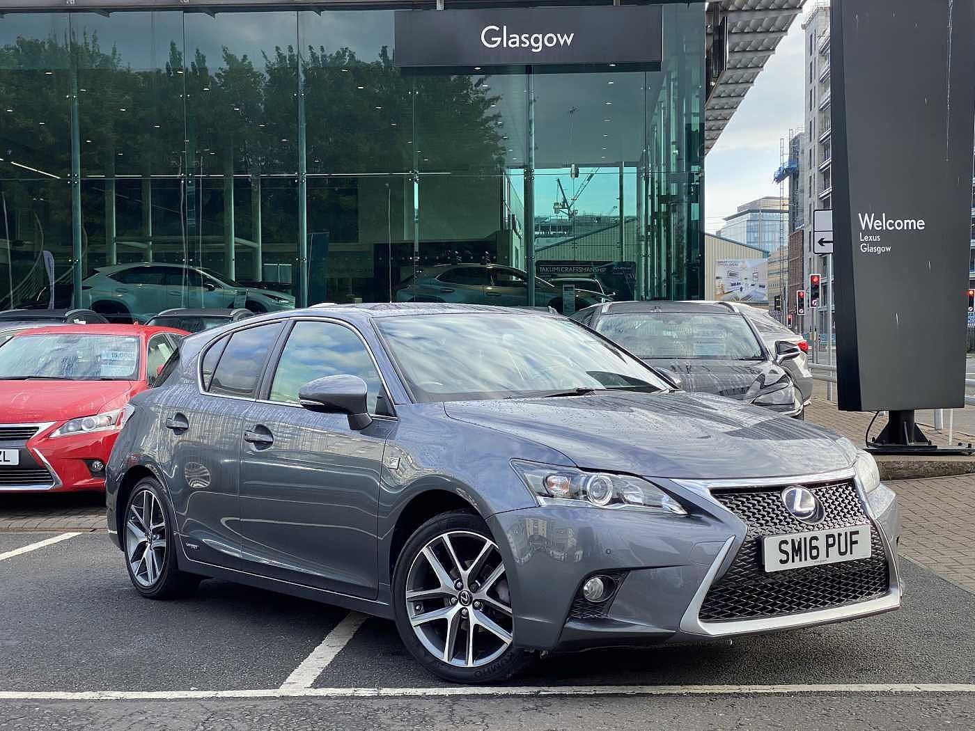 Used 2016 CT 200h F-Sport Leather/Navigation