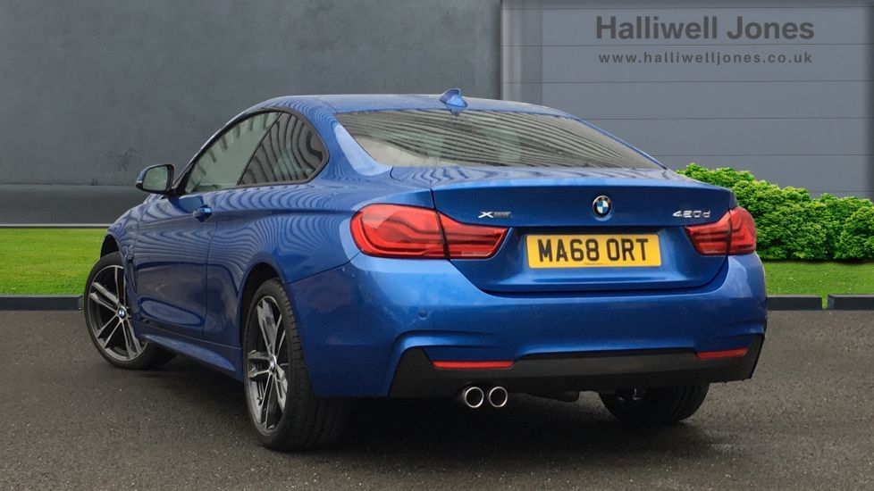 Image 2 - BMW 420d xDrive M Sport Coupe (MA68ORT)