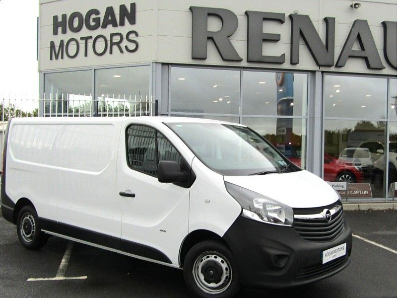 Opel Vivaro Long Wheel Base 1.6 Dsl €10,000 +Vat