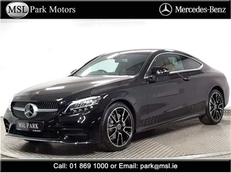 Mercedes-Benz C-Class 180 AMG Automatic Coupe - €9,055 worth of extras -  19 inch alloy wheels - Smartphone integration - AMG bodykit - Sports seats