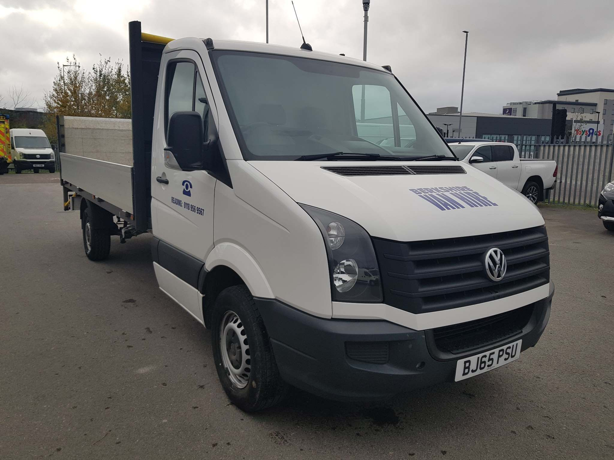 Volkswagen Crafter 2.0 TDI Drop Side For Sale