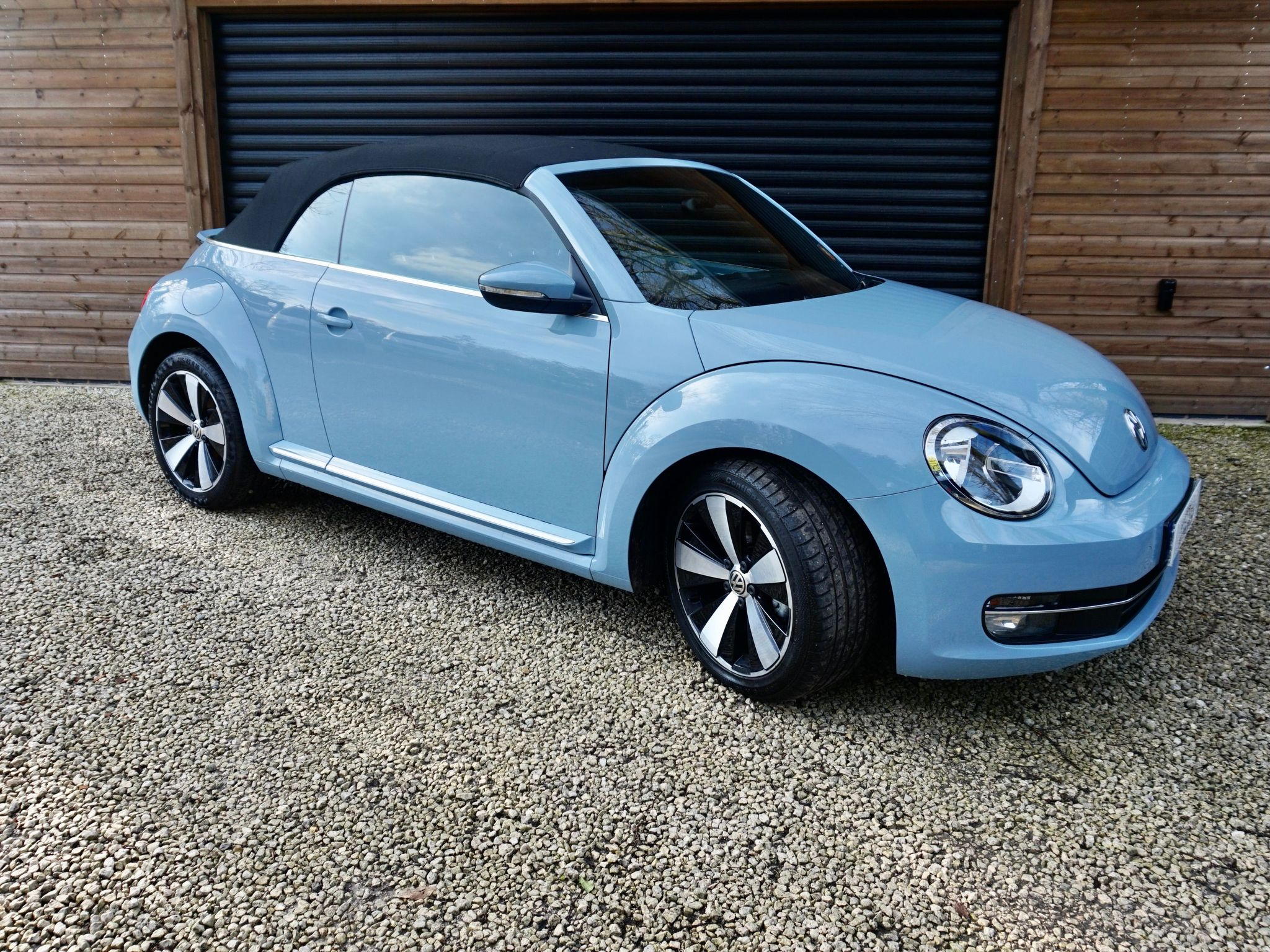 Blue Petrol Volkswagen Beetle Convertible Used Cars For Sale Autotrader Uk