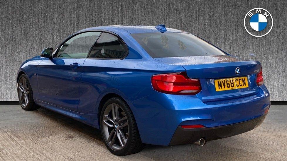 Image 2 - BMW 218i M Sport Coupe (MV68CCN)