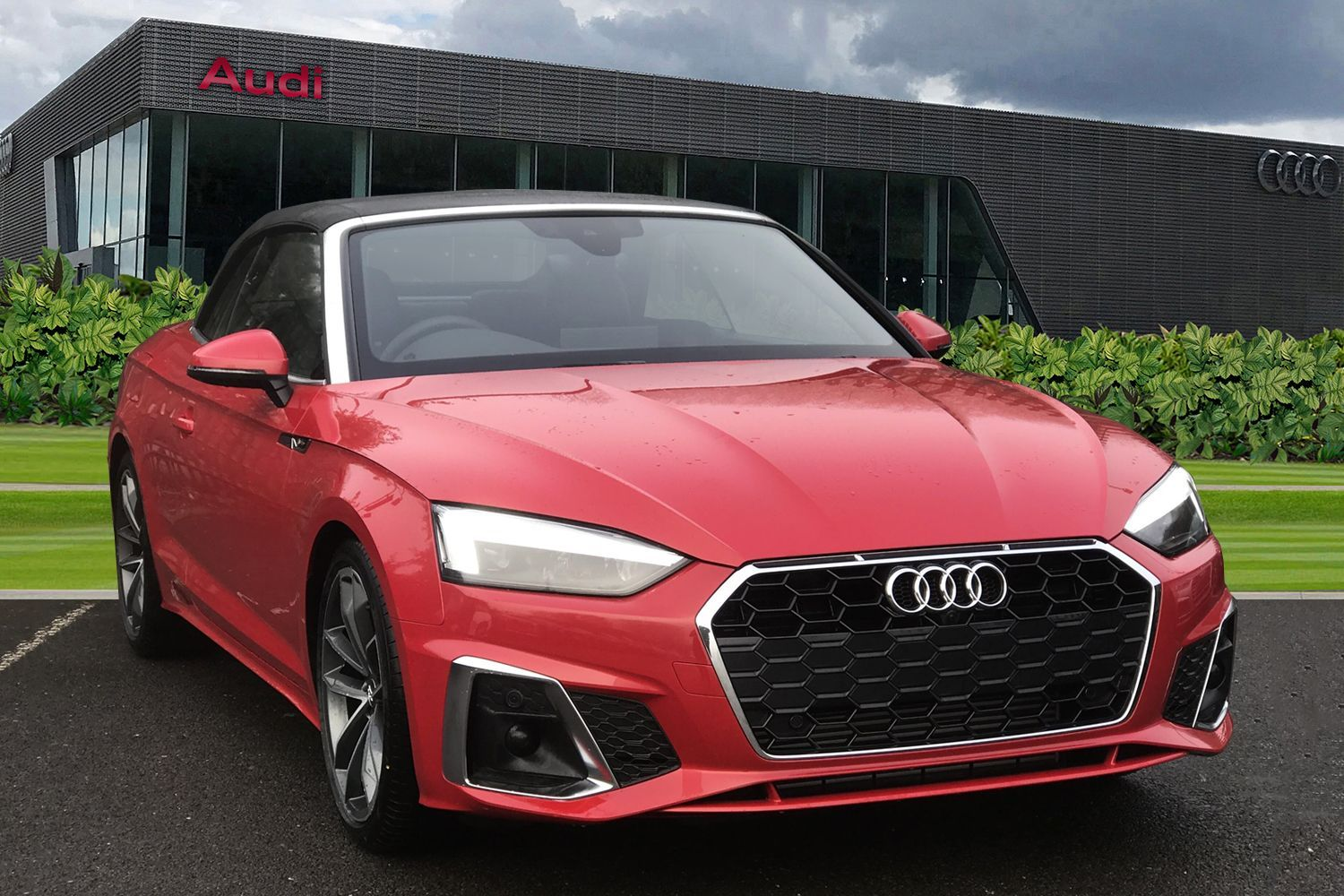 Red Petrol Audi A5 Cabriolet Convertible Used Cars For Sale Autotrader Uk
