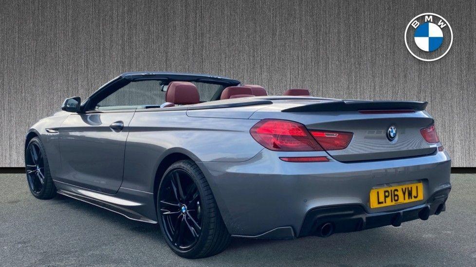Image 2 - BMW 640i M Sport Convertible (LP16YWJ)