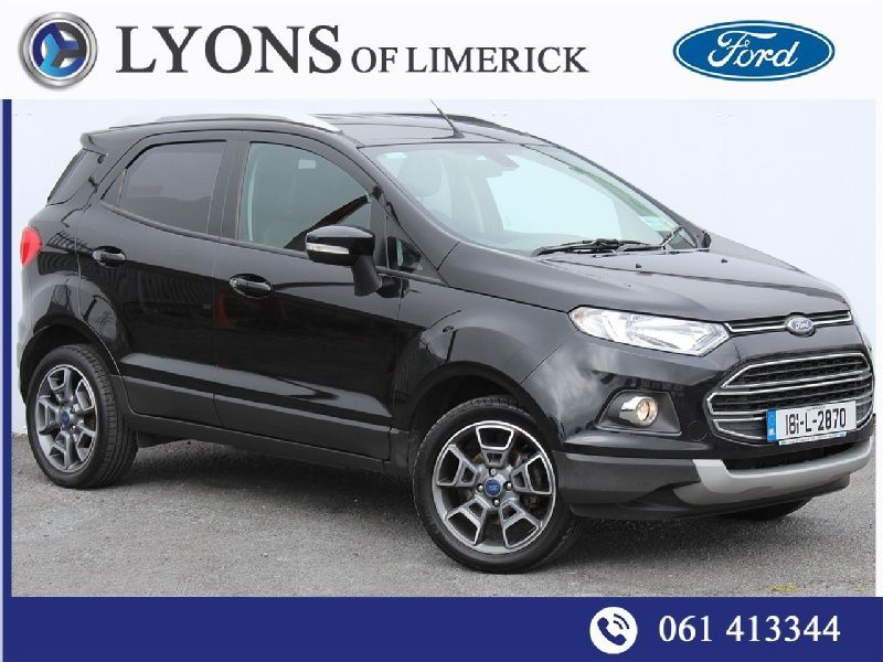 Ford EcoSport TITANIUM 5D 1.5T 110PS AUTO Contact Pat O Leary 0878578926