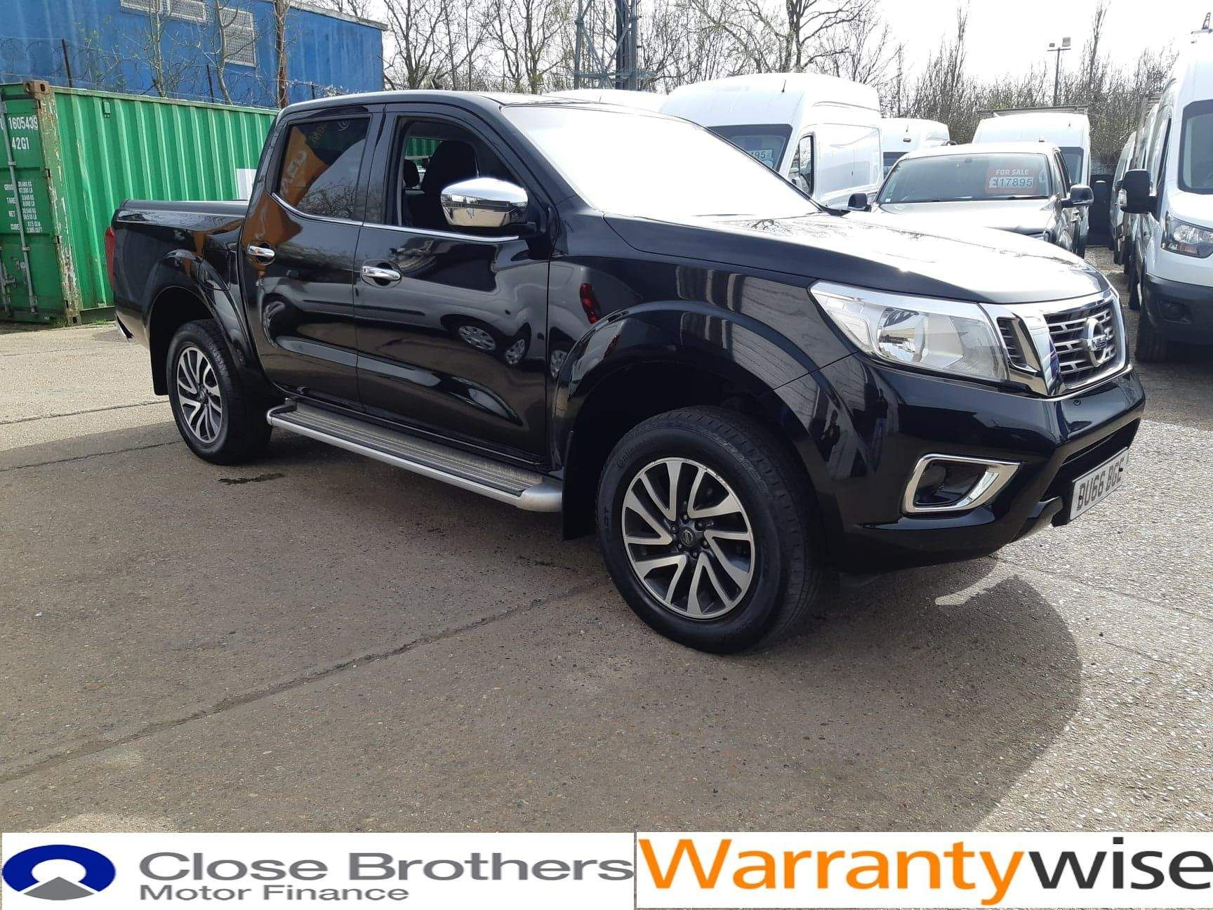 Nissan Navara 2.3 dCi N-Connecta Double Cab Pickup 4WD (s/s) 4dr