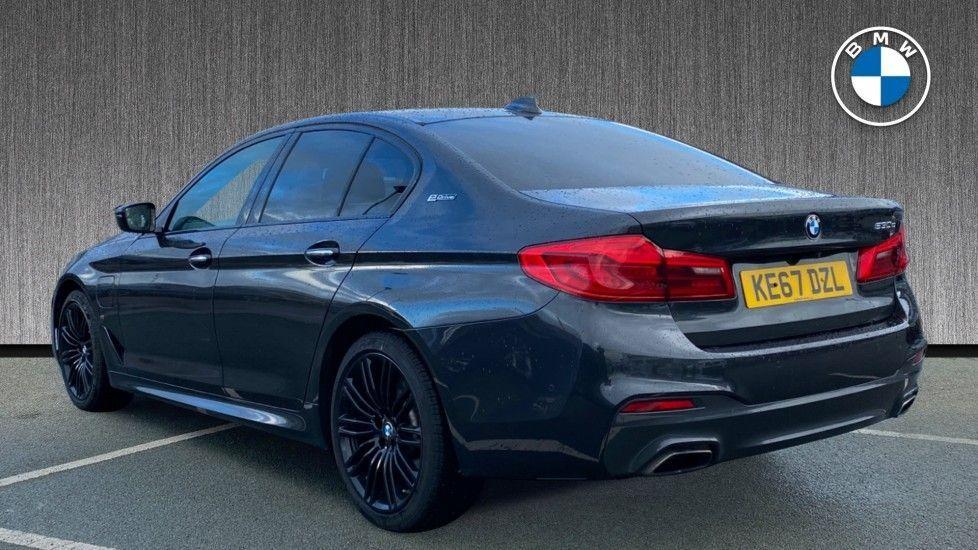 Image 2 - BMW 530e M Sport iPerformance Saloon (KE67DZL)