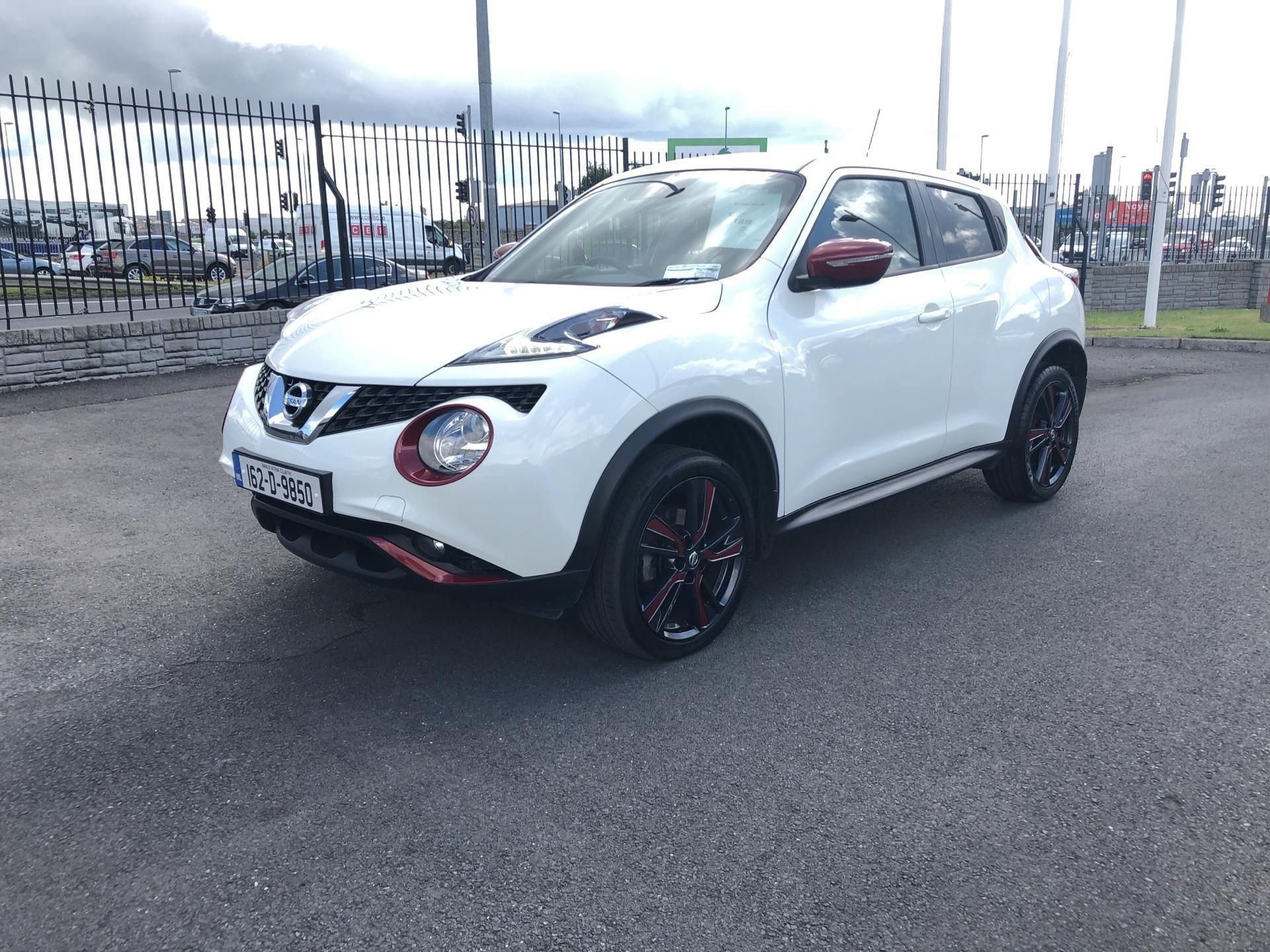 Used Nissan Juke 1.2 SV RED EX-T PK + INT P 4DR (2016 (162))