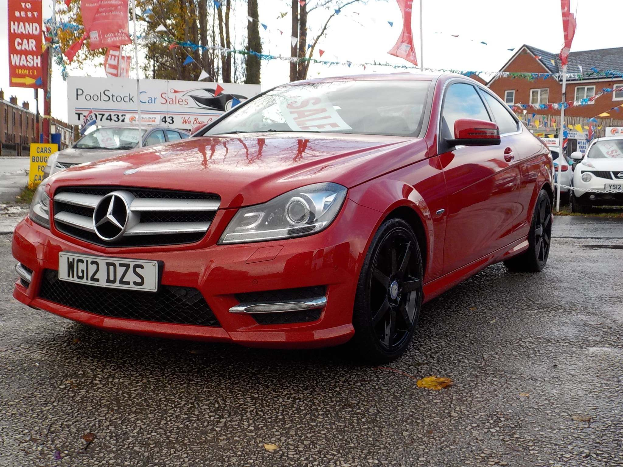 Mercedes-Benz C Class 2.1 C220 CDI BlueEFFICIENCY AMG Sport Sport Coupe 7G-Tronic Plus 2dr