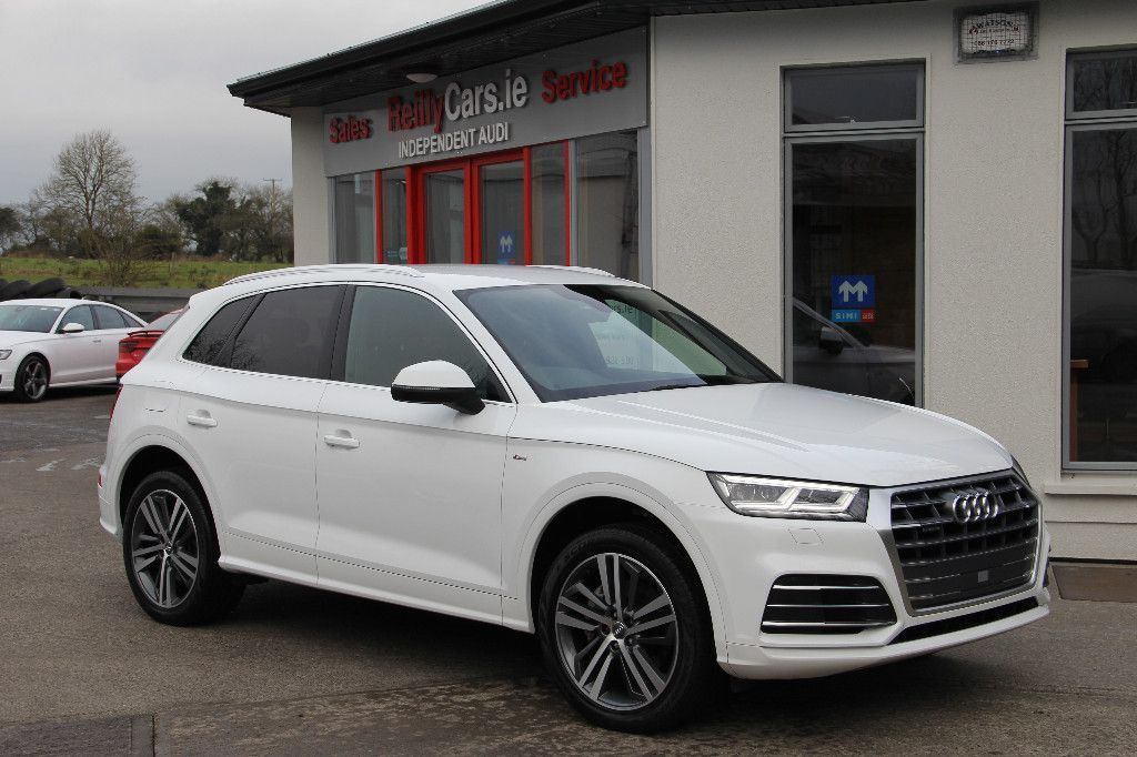 Audi Q5 Sorry deposit taken but another 181 Q5 S Line in stock...S LINE with extra spec * QUATTRO S TRONIC ULTRA 190BHP * Finance available * Trade in welcome