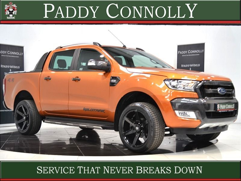 Used Ford Ranger *5 Seat N1 Crew Cab* 3.2 TDCI WILDTRACK (2018 (181))