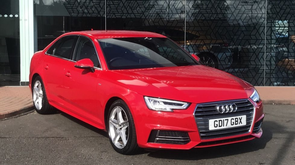 Used 2017 A4 2.0 TDI S Line 4dr S Tronic