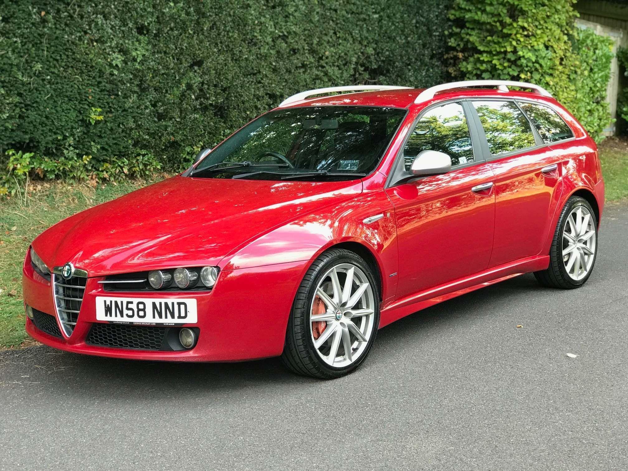 Red Alfa Romeo 159 Sportwagon Used Cars For Sale Autotrader Uk