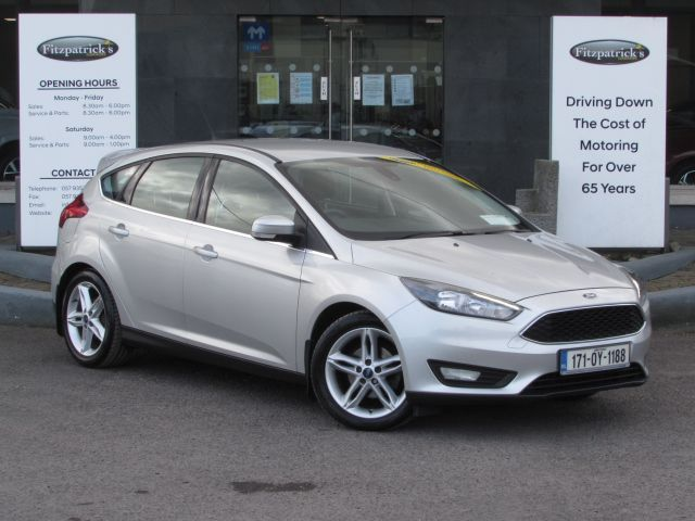 Ford Focus STYLE 1.5 DIESEL 61,000 KMS WITH 2 YEAR NCT TEST WITH WARRANTY ANY TRADE IN WELCOME.