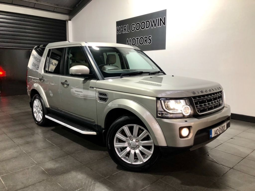 Land Rover Discovery 4 3.0 TDV6 5 SEAT UTILITY HIGH SPEC INCL VAT