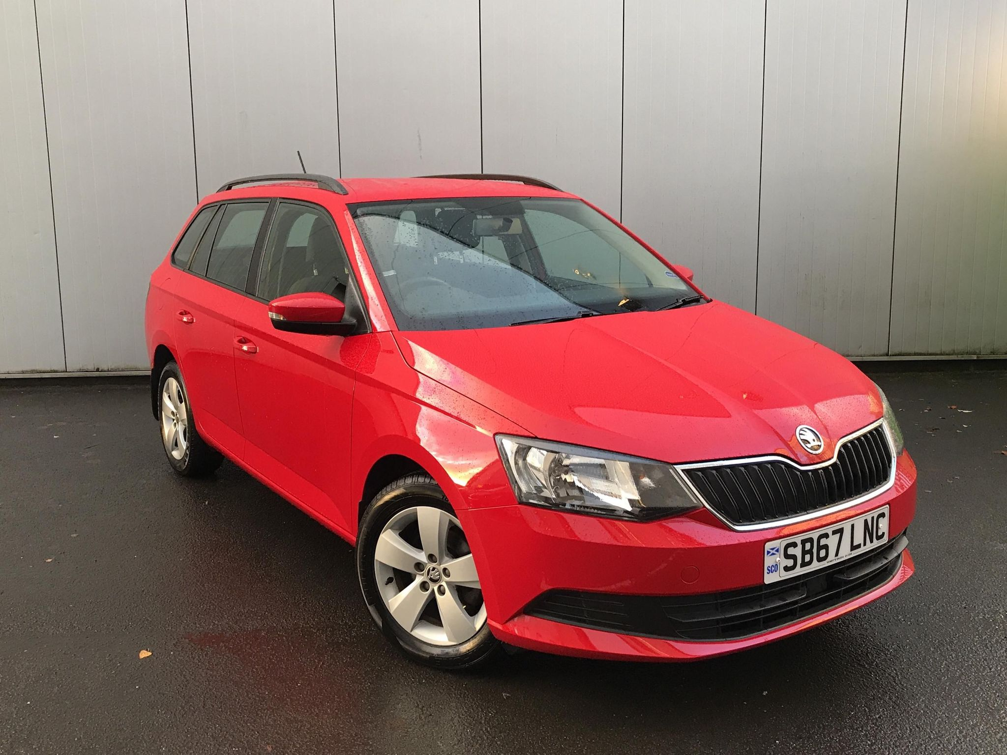 ŠKODA Fabia 1.0 TSI SE (95PS) S/S 5-Dr Estate
