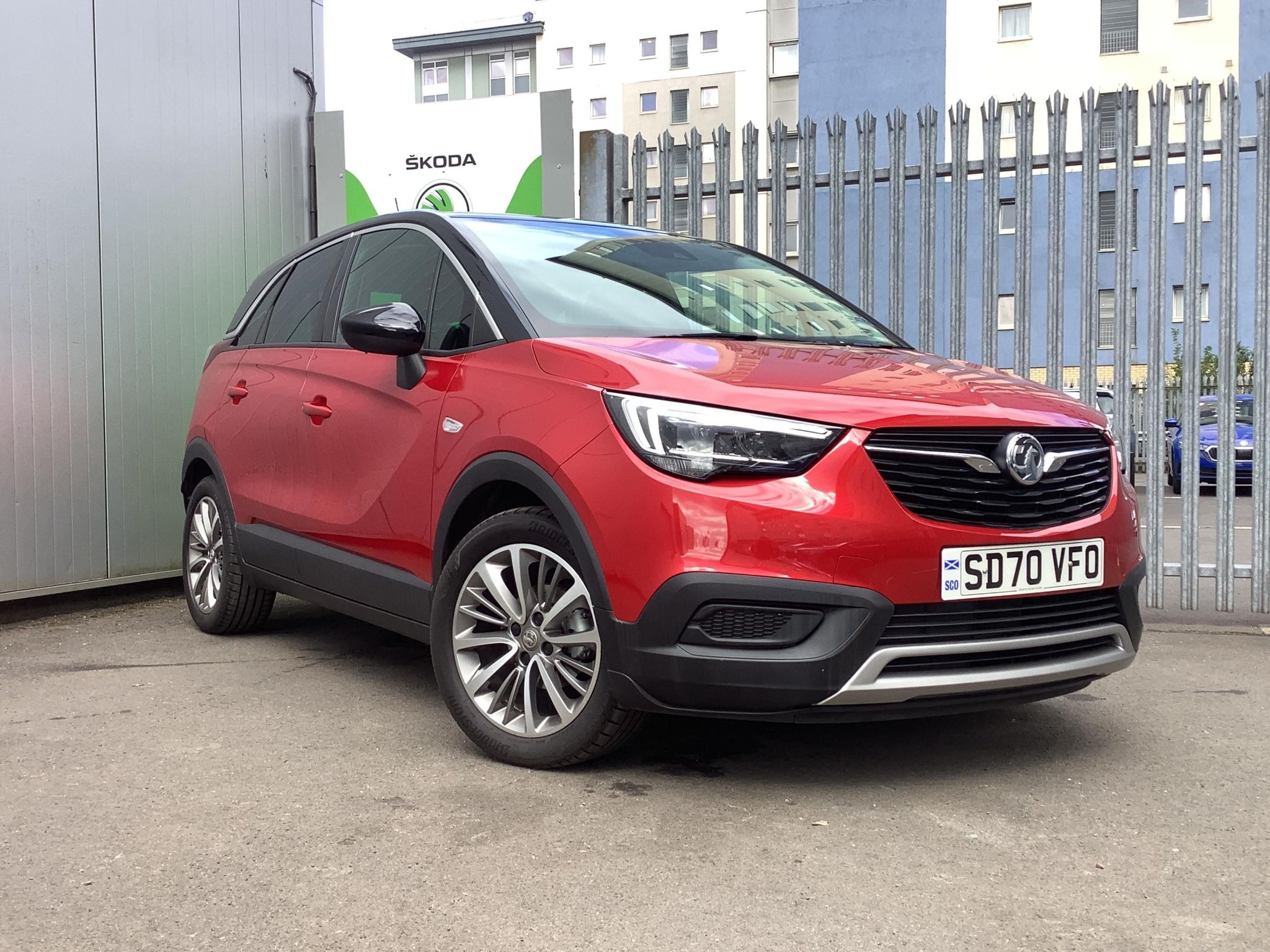 VAUXHALL CROSSLAND X GRIFFIN SUV 1.2i (83ps) Griffin