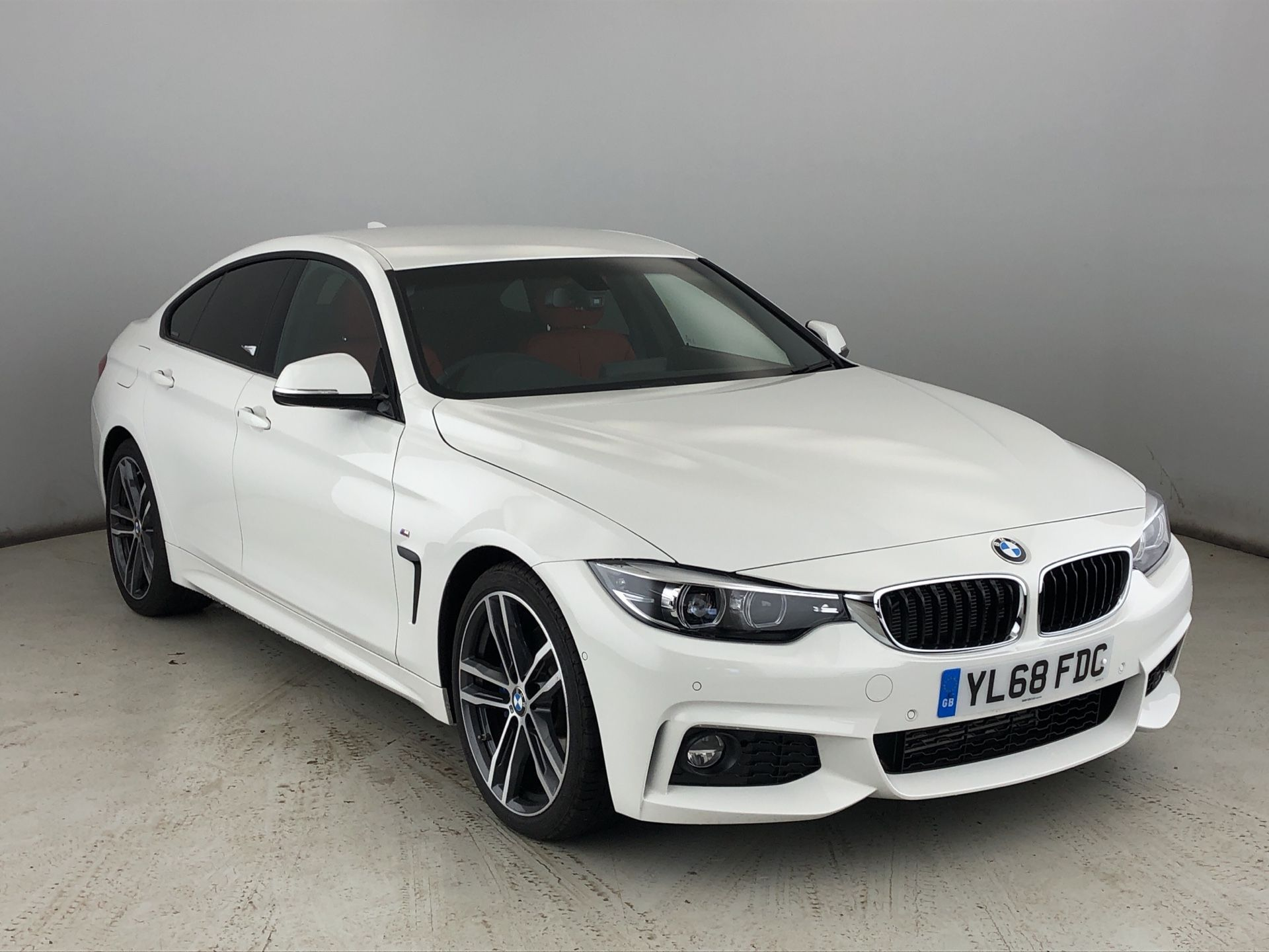 Image 1 - BMW 420d M Sport Gran Coupe (YL68FDC)