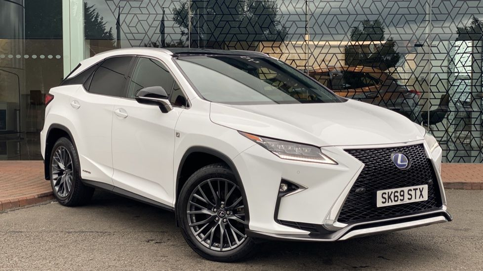 Used 2019 RX450h F-Sport Tech & Safety Pack