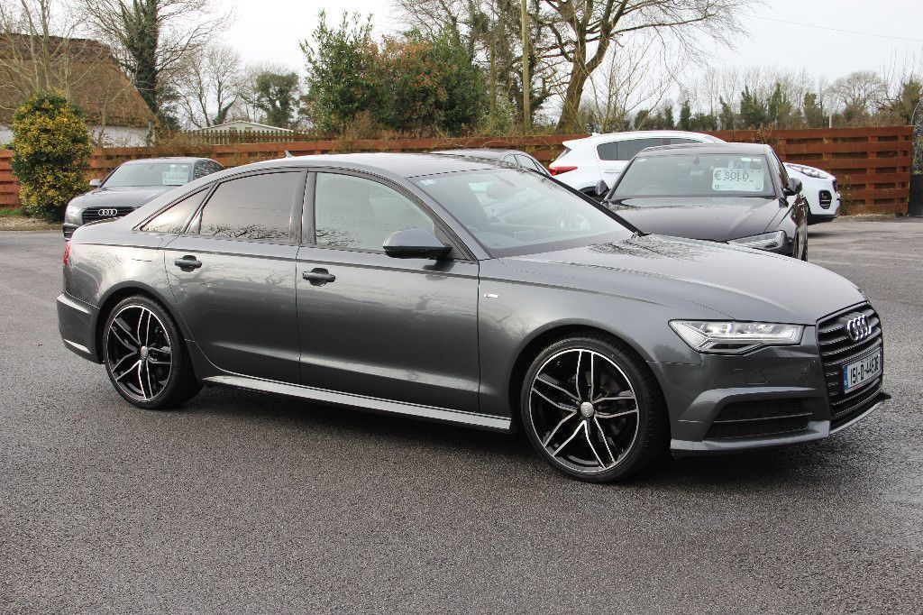 Audi A6 BLACK EDITION S LINE ULTRA 190BHP S TRONIC * ONLY 68KMS *FULLY COMPREHENSIVE WARRANTY * FINANCE AVAILABLE