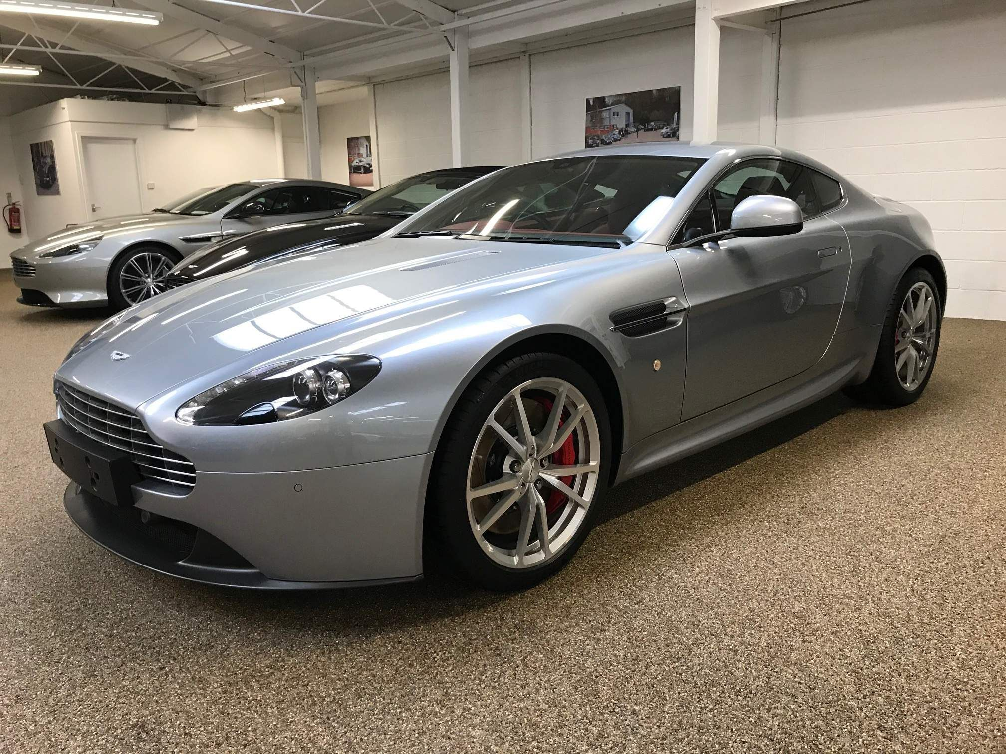 Silver Aston Martin Vantage Used Cars For Sale Autotrader Uk